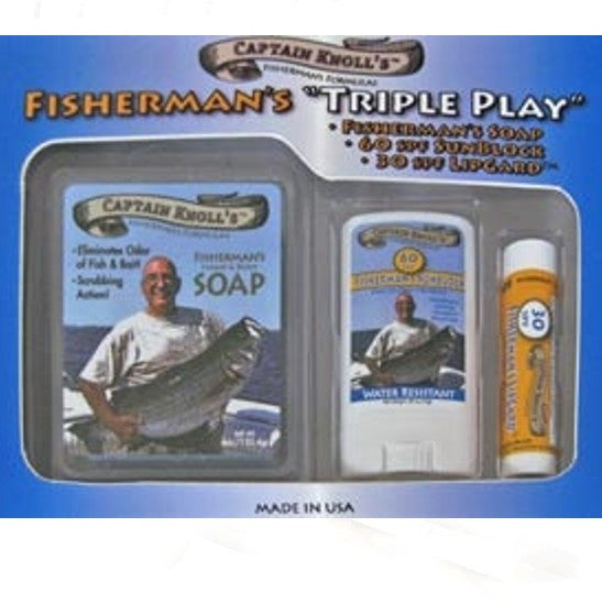 "Fisherman's ""Triple Play"" Soap Gift Pack"