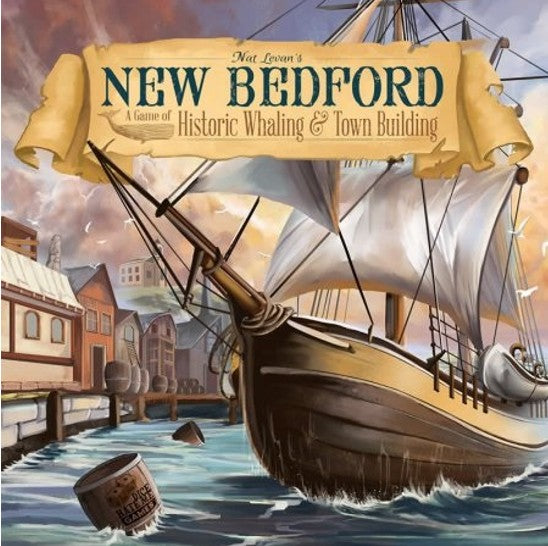 New Bedford: Game of Historic Whaling & Town Building