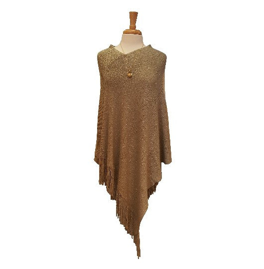 Ladies Gold Shawl
