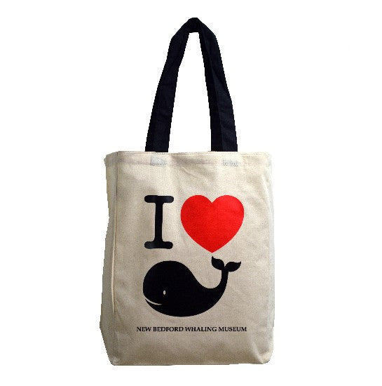 I Heart Whales Tote