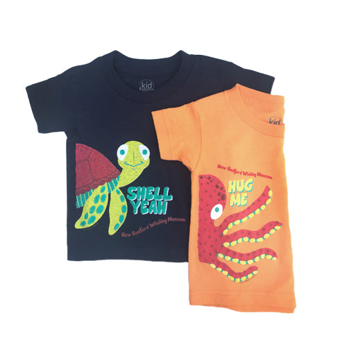 Kids Ocean Themed NBWM T-Shirt