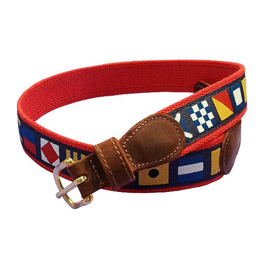 Child's Signal Flag Belt