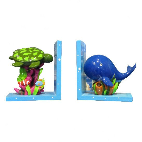 Children's Sea Life Bookends