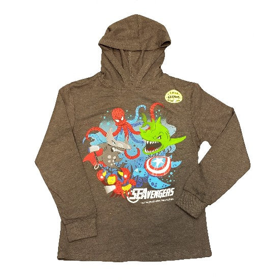 SEAvengers Hooded NBWM T-Shirt