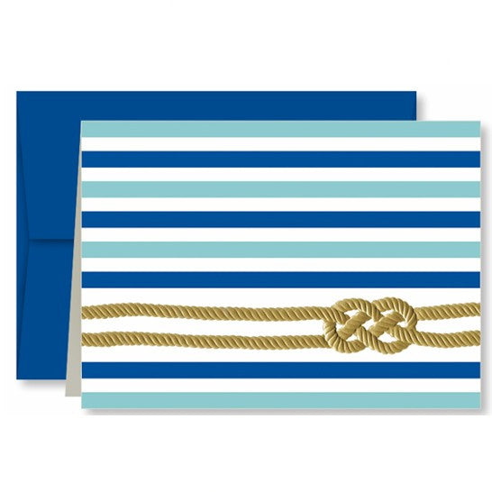 Nautical Knots Single Note Card