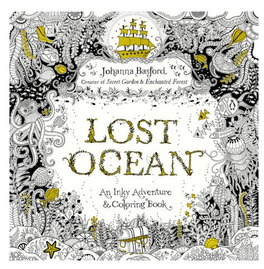 Lost Ocean, An Inky Adventure and Coloring Book
