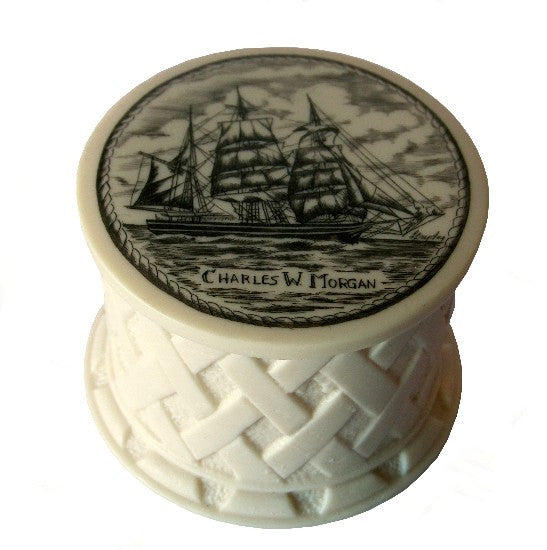 Charles W. Morgan Scrimshaw Box