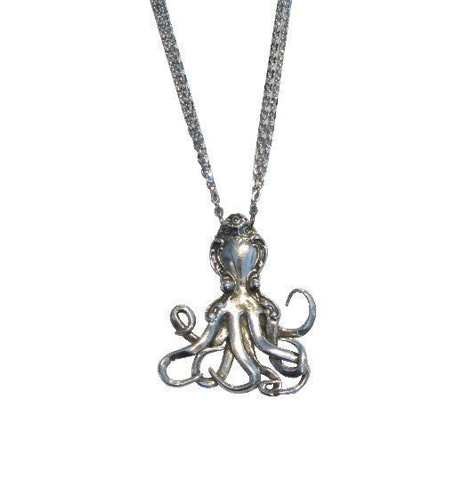 Octopus Spoon Necklace