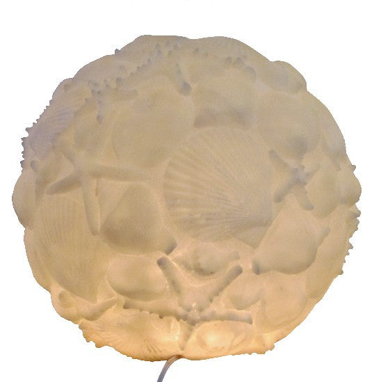 Seashell Orb Lamp