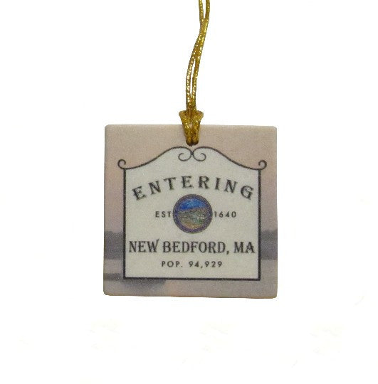 New Bedford Tile  Ornament