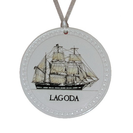 Lagoda Ceramic Ornament