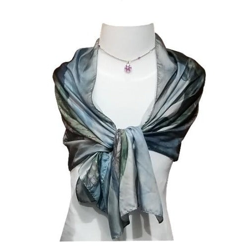 Grand Panorama Silk Scarf