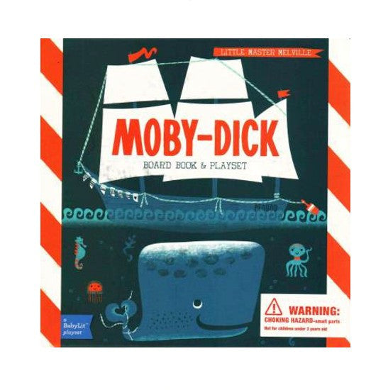 Moby-Dick Board Book & Playset