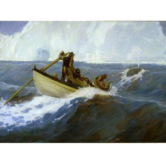 The Chase of the Bowhead Whale by Clifford Warren Ashley