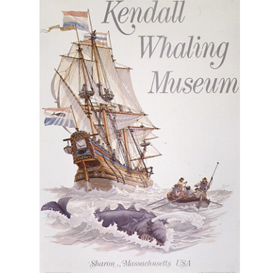 Gilkerson Kendall Whaling Museum Poster