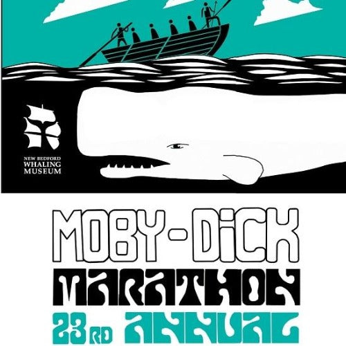 2019 Moby-Dick Marathon Print, Artist Signed