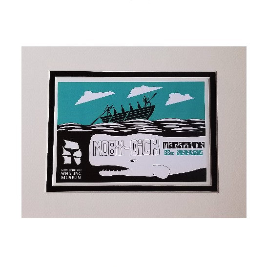 2019 Moby-Dick Marathon Matted Print