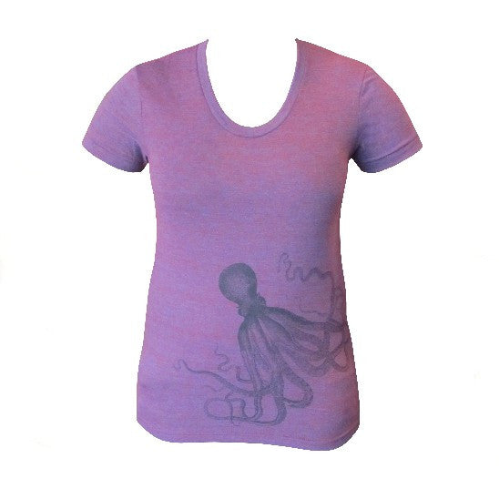 Octopus T-Shirt, Ladies