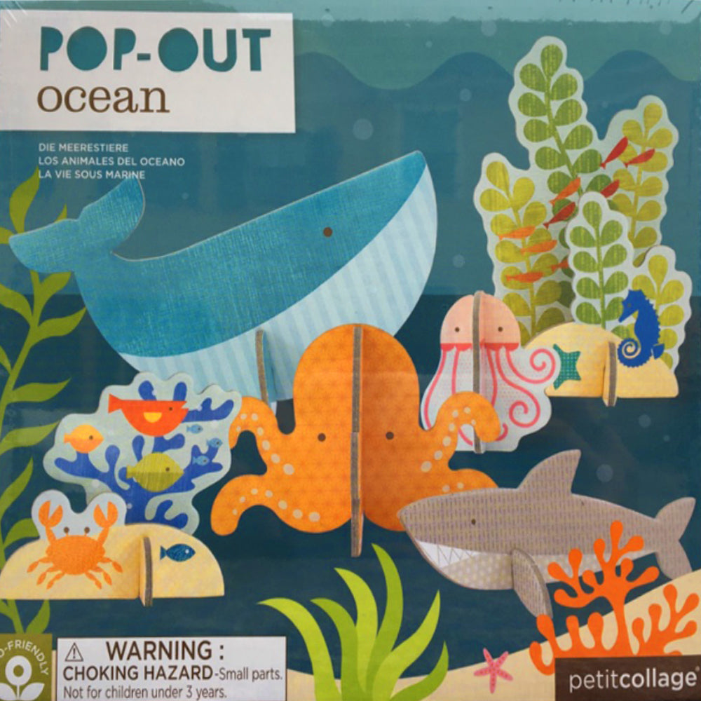 Pop-out and Build Ocean Puzzle