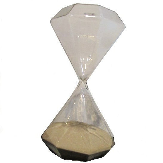 Glass Hourglass