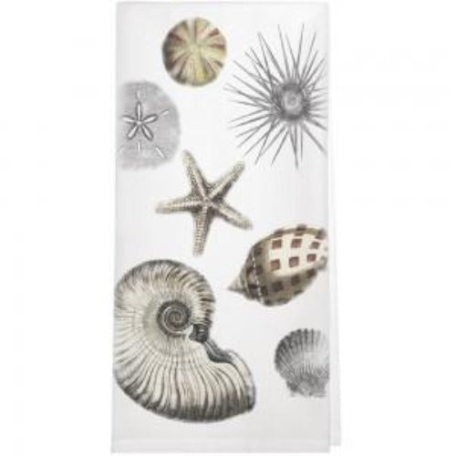 Scattered Seashell Towel