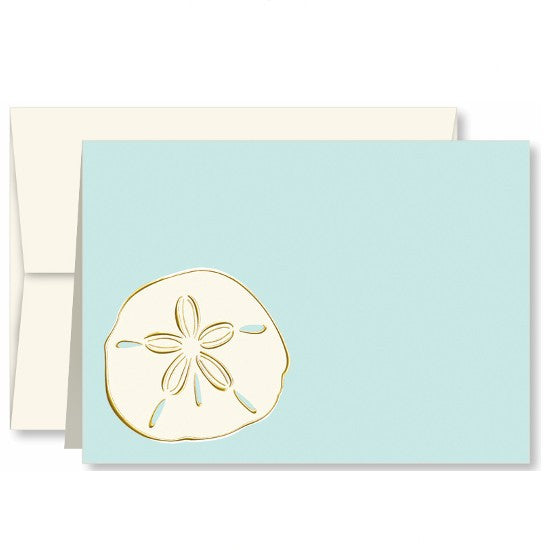 Sand Dollar Single Note Card