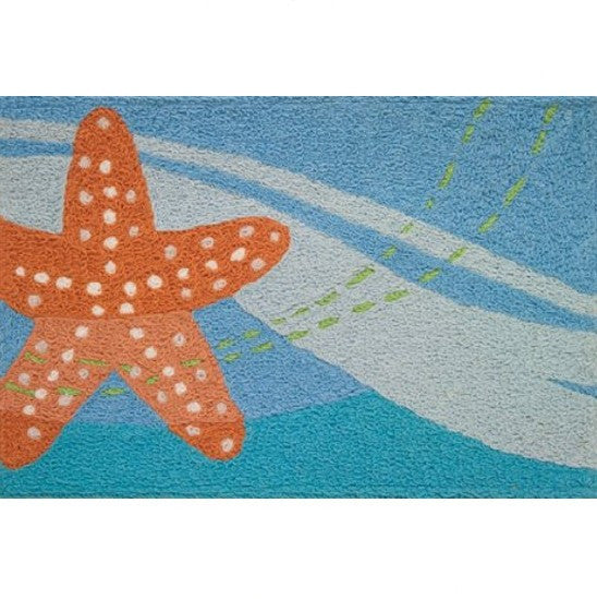Starfish Accent Rug