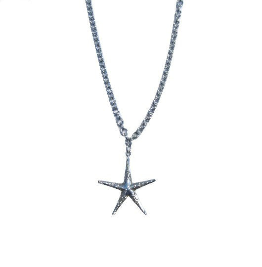 Sea Star Spoon Necklace