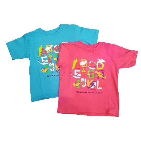 Kids Alphabet NBWM T-Shirt