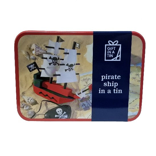 Pirate Ship in a Tin