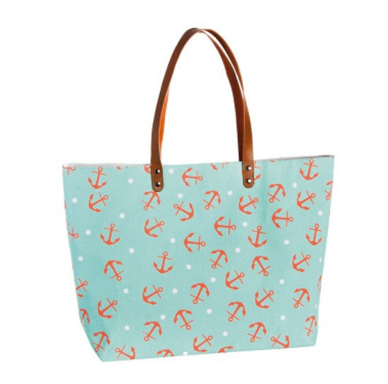 Ladies Large Anchor Tote