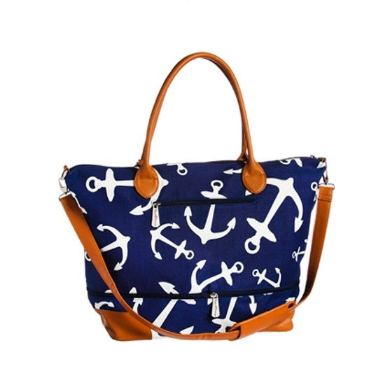 Large Anchor Getaway Bag