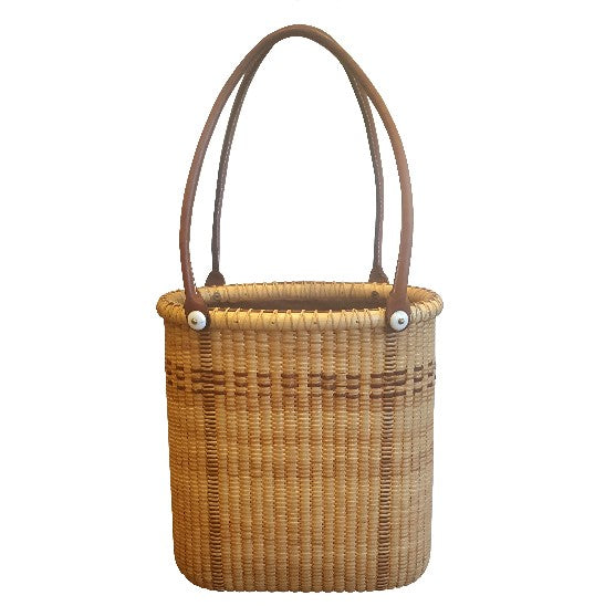 Handwoven Basket Tote Purse