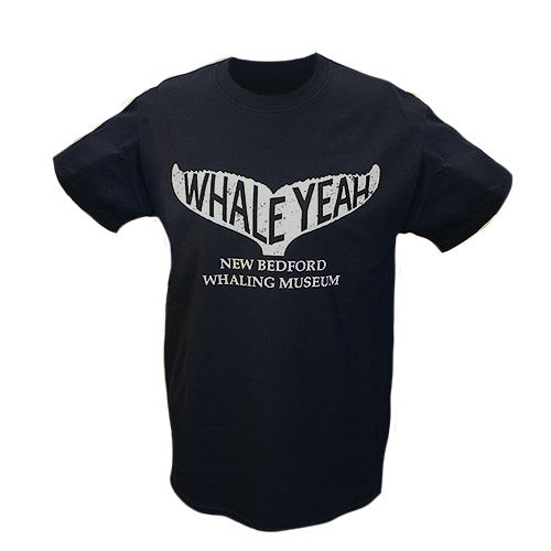 Navy Whale Yeah T-Shirt
