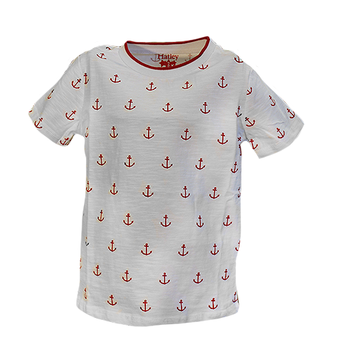 Nautical Anchors Graphic Tee
