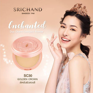 Srichand Enchanted Duo Charm Compact Powder