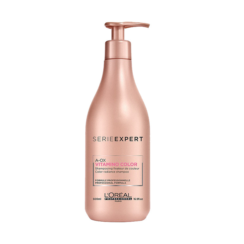 L'Oreal Professionnel Serie Expert Vitamino Color A-OX Shampoo 500 ml. ลอรีอัล แชมพูสำหรับผมทำสี Loreal