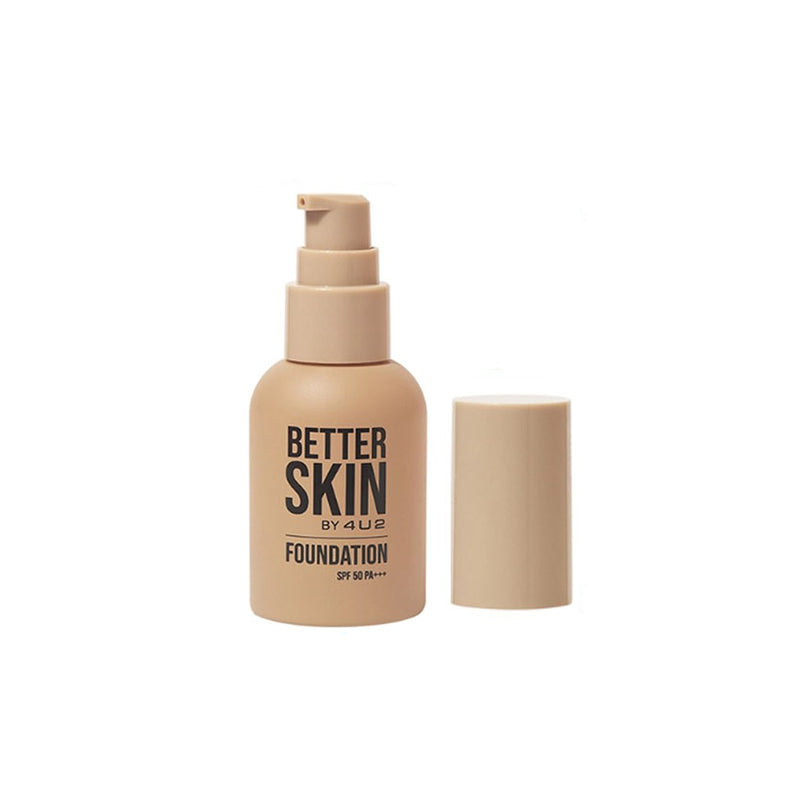 4U2 BETTER SKIN FOUNDATION SPF50 PA+++