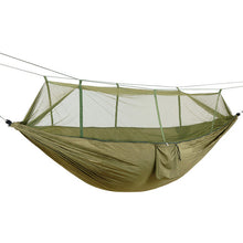 Load image into Gallery viewer, 1-2 Person Portable Outdoor Camping Hammock With Mosquito Net
