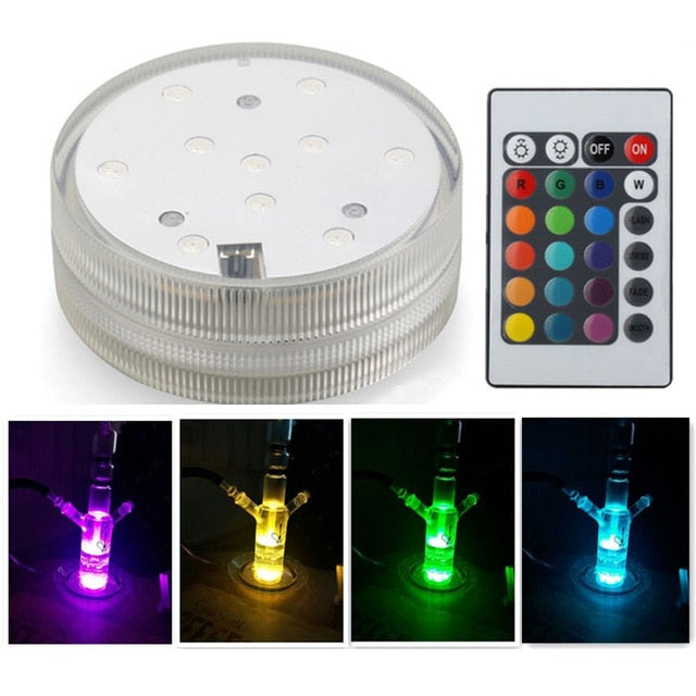 Shisha Accessories Led Light With Remote