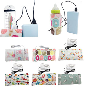 10 Colors USB Baby Bottle Warmer