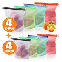 Load image into Gallery viewer, Reusable Silicone Food Storage Bag