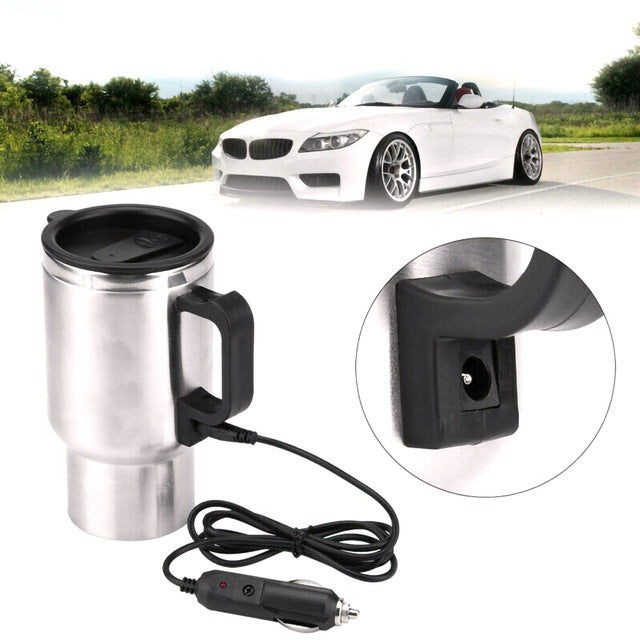 Electric In-car Stainless Mug