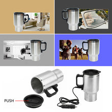 Load image into Gallery viewer, Electric In-car Stainless Mug