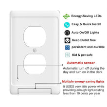 Load image into Gallery viewer, Power Outlet Cover LED Guide Light