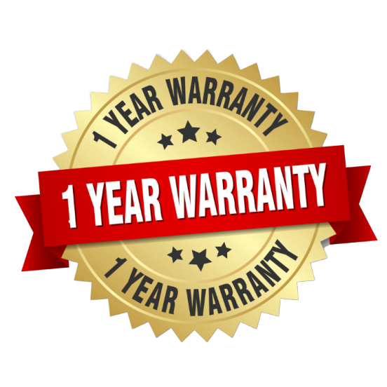 1 Year Warranty Protection