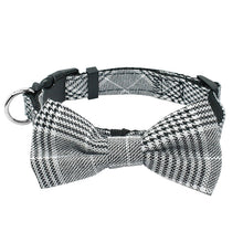 Load image into Gallery viewer, Pet Dog Cloth Bow Tie Collar
