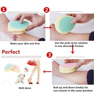 1pc Magic Painless Hair Removal Sponge