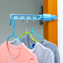 Load image into Gallery viewer, Portable Indoor Space Saving Hanger Rack