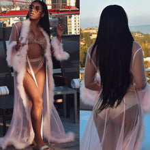 Load image into Gallery viewer, Women's Lingerie Cover-Ups Robe Gown